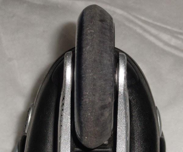 ejemplo de rueda gastada de patines de segunda mano