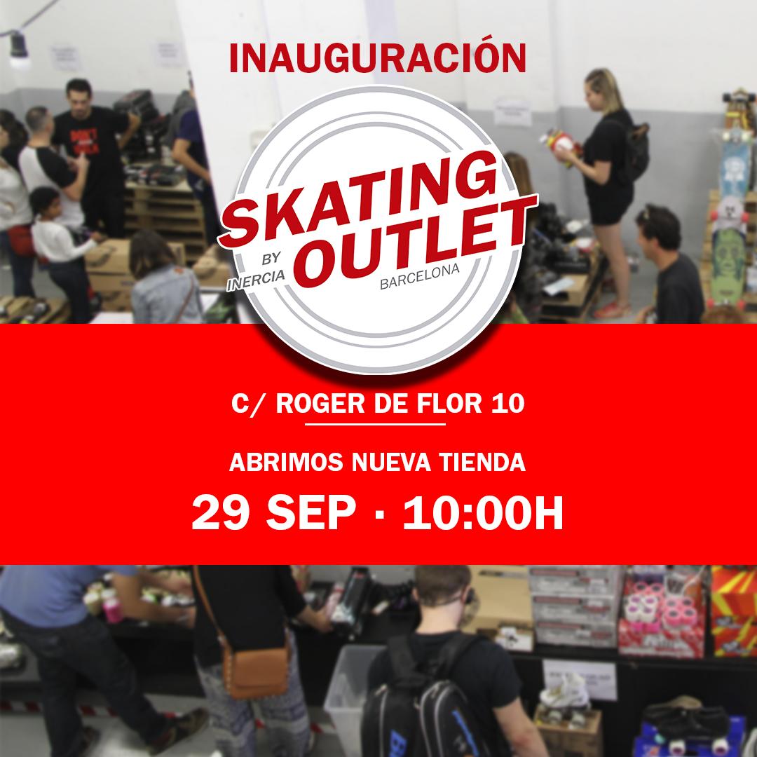 nueva tienda skating outlet
